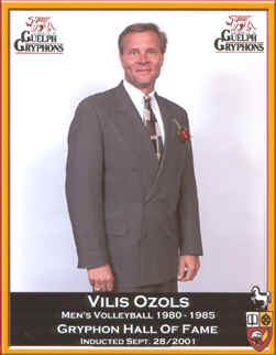Ozols Volleyball Hall of Fame